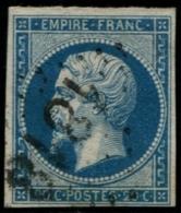 Lot N°170a France N°14B  Oblitéré Qualité TB - 1853-1860 Napoléon III