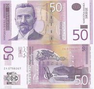 Serbia 50 Dinara 2005. UNC Replacement ZA - Serbie