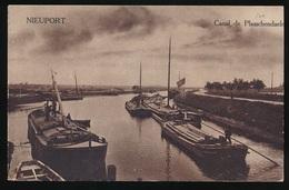 NIEUWPOORT = CANAL DE PLASSCHENDAELE - Nieuwpoort