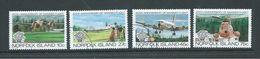 Norfolk Island 1983 Manned Flight Anniversary Set 4 FU - Norfolk Island