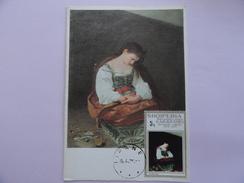 CARTE MAXIMUM CARD STE MADELEINE DE CARAVAGGIO SHOIPERA - Religious