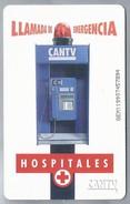 VE.- Venezuela. CANTV. LLAMADA DE EMERGENCIA, HOSPITALES. 2 Scans - Venezuela