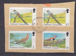 Falkland Islands 1999 4v Used On Paper (37154C) - Falklandeilanden