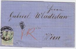 Serbien, 1870, 35 Para, Brief Nach Wien,  # 9029 - Serbien