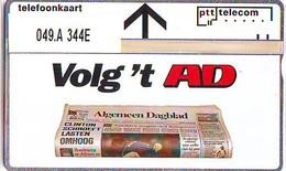 Telefoonkaart * AD *  LANDIS&GYR * NEDERLAND * R-049.a * 344E * Niederlande Prive Private * ONGEBRUIKT * MINT - Nederland