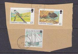 Falkland Islands 1999 3v Used On Paper (37154F) - Falklandeilanden