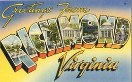 Greetings From Virginia - Richmond - Richmond