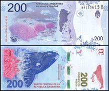 Argentina 200 Pesos, 2017, P-NEW, UNC - Argentine