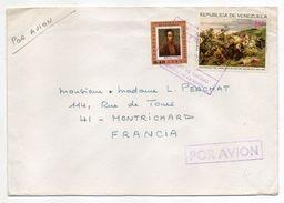 VENEZUELA--lettre à Destination De MONTRICHARD-41 (France)---composition De Jolis Timbres - Venezuela