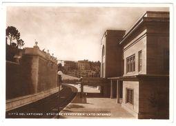 Città Del Vaticano - Stazione Ferroviaria Lato Interno - Fotocelere - 1950 - Vatican