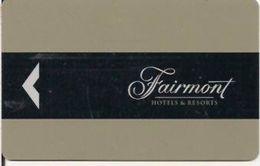 CANADA    KEY HOTEL Fairmont Hotels & Resorts - Hotel Keycards