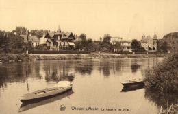 BELGIQUE - NAMUR - WEPION S*MEUSE - La Meuse Et Les Villas. - Namen