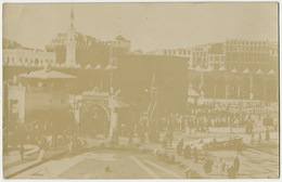 Real Photo Mecca La Mecque Written In 1919 Not Postally Used With Stamp - Saudi Arabia