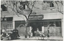 "Shanghai Café Restaurant "" Barcelona "" Prop. H. Pellen 326 Roi Albert Street Facing Hai Alai - China"