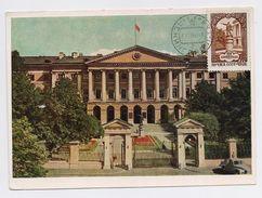 CARTE MAXIMUM CM Card USSR RUSSIA Architecture Leningrad Smolny Lenin - 1923-1991 UdSSR