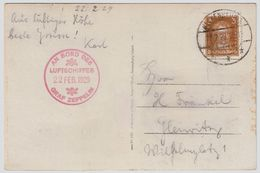 Zeppelin, 1929, Werkstätten-Fahrt , Sieger € 500, R!!   ,  # 9001 - Zeppelins