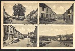 Hombourg Haut 1942 Oberhomburg / Westmark, Ortspartie Mit Häusern Près De Freyming Merlebach - Freyming Merlebach