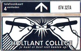 Telefoonkaart * HOLTLAND COLLEGE *  LANDIS&GYR * NEDERLAND * R-074 * 327A * Niederlande Prive Private  ONGEBRUIKT MINT - Nederland