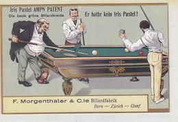 Billiardfabrik Morgenthaler - Bern, Zürich, Genf        (P-98-60424) - Advertising