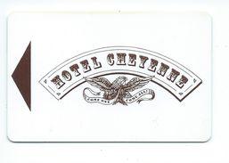 Euro Disney Hôtel Cheyenne Ouverture MAI 1992 Carte Disneyland TB 2 Scans - Cartes D'hotel