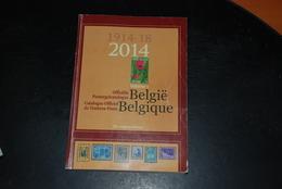 Catalogue Officiel Belge 2014 / Officiële Postzegelcatalogus 2014 - Belgien