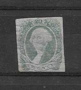 ETATS CONFEDERES D'AMERIQUE EMISSIONS GENERALES ANS 1862-1864 GEORGE WASHINGTON YVERT TELLIER NR. 12 VERT - Nachdrucke & Specimen