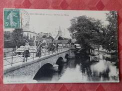 Dep 28 , Cpa  ECLUZELLES , Le Pont Sur L'Eure (S2.223) - Other Municipalities