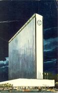 Etats Unis - New-York  - 1974 - The New York Hilton - Rockfeller Center - Curteichcolor - Ecrite, Timbrée - 3108 - Cafés, Hôtels & Restaurants