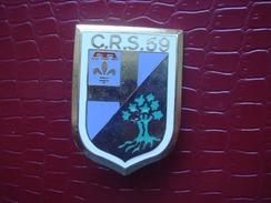 CRS 59 - Ollioules  ( Numeroté ) - Police & Gendarmerie