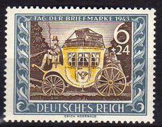Deutsches Reich, 1943, Mi 828 **, Tag Der Briefmarke [210215XI] - Alemania