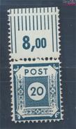 Sowjetische Zone (All.Bes.) 48D III A Geprüft, Coswig Gezähnt L 11 1/2 Postfrisch 1945 Ziffer Im Kreis (7596577 - Zone Soviétique