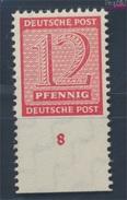 Sowjetische Zone (All.Bes.) 119B X Geprüft, Roßwein Gezähnt L 11 1/4 Postfrisch 1945 Ziffer (7596508 - Zone Soviétique