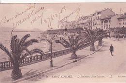 CPA - 48. SAINT RAPHAEL - Le Boulevard Félix Faure - Saint-Raphaël