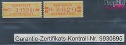 DDR DB18N-DB19N (kompl.Ausg.) Nachdruck Postfrisch 1958 Zentraler Kurierdienst (7660582 - DDR