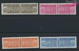 Italien Pz5-Pz8 (kompl.Ausg.) Postfrisch 1955 Staatswappen (9045786 - 6. 1946-.. Repubblica