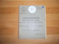 Guide Technique Année 1955 - MAT 1041 - Lance Roquettes Antichar US - Documents