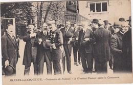 MARNES LA COQUETTE Centenaire De Pasteur - France