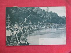 Fishing Scene Brookside Park - Ohio > Cleveland----ref 2744 - Cleveland