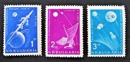 LUNIK IV 1963 - NEUFS ** - YT 1194/96 - MI 1388/90 - Bulgarie