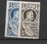 1934 MNH Poland - 1919-1939 Republic