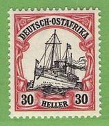 MiNr. 35 Xx  Deutschland Deutsche Kolonie Deutsch-Ostafrika - Kolonie: Deutsch-Ostafrika