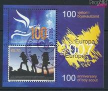 Kosovo (UN-verwaltung) Block6 (kompl.Ausg.) Gestempelt 2007 Pfadfinder (9077277 - Gebraucht