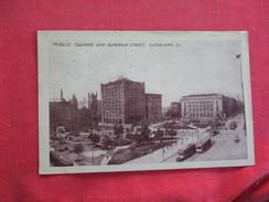 Ohio > Cleveland Public Square & Superior Street    -ref 2744 - Cleveland