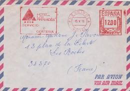 A.2. FUENGIROLA. Franqueo Mecánico HOTEL LAS PIRAMIDES. 1978. Nitida Estampación. Filatelia. H. Postal. - Marcofilia - EMA ( Maquina De Huellas A Franquear)