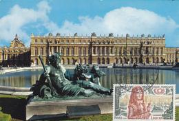 Carte-Maximum FRANCE  N° Yvert 1656 (VERSAILLES) Obl Sp Ill 1er Jour (Ed Guy 5720) - 1970-79