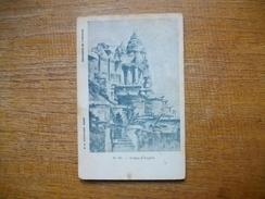 Carte Assez Rare , Cambodge , Ruines D'angkôr - Cambodia