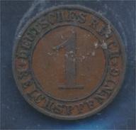 Deutsches Reich Jägernr: 313 1924 E Sehr Schön Bronze 1924 1 Reichspfennig Ährengarbe (7879677 - [ 3] 1918-1933 : Weimar Republic