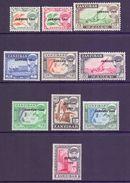 Zanzibar Scott 285/294 - SG414/423, 1964 Jamhuri Set To 1/- MNH** - Zanzibar (...-1963)