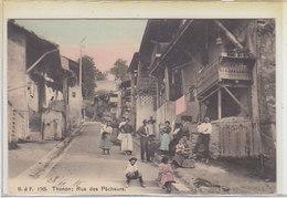 Thonon - Rue Des Pêcheurs - Belle Animation - 1928      (P-98-60123) - Thonon-les-Bains