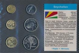 Seychellen Stgl./unzirkuliert Kursmünzen Stgl./unzirkuliert 2004-2007 1 Cent Bis 5 Rupees (9030228 - Seychellen